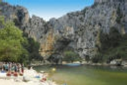 Région Camping Les Cigales - Berrias